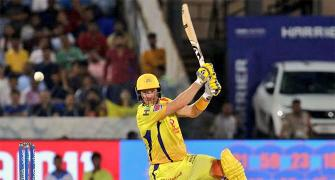 Watson batted with bleeding knee in IPL final...