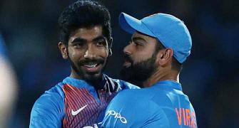 Kohli, Bumrah head into World Cup with No 1 ranking