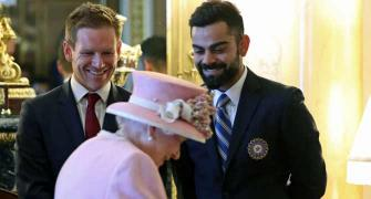 PIX: Kohli meets Queen Elizabeth, Prince Harry