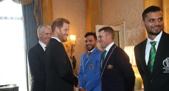 Prince Harry drops cheeky chirp at Finch