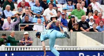 How Stokes reacted to his sensational one-handed catch