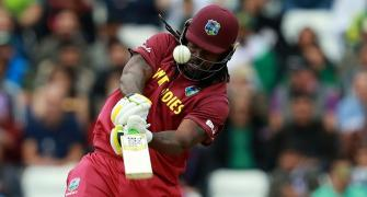 Gayle has most number of sixes to his credit