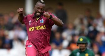 I am fast bowler, says annoyed Russell after big win