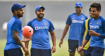 India ready to play Delhi T20I, Rohit tells Ganguly