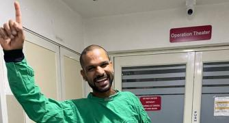 We fall, break but then we rise: Dhawan on his injury