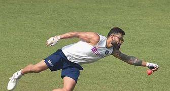 Kohli says pink ball feels like heavy hockey ball