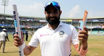 PHOTOS: Shami too hot to handle for South Africa