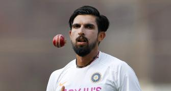 Aus Tour: Ishant ruled out of Tests