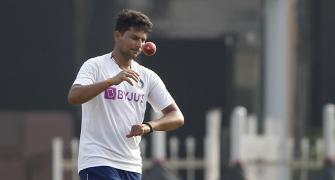 Injured Kuldeep out of Ranchi Test, Nadeem added to team
