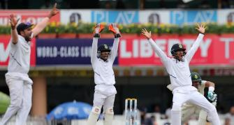 Saha sustains injury, Pant keeps wickets in final hour