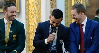 Kohli's mantra: 'In sport rivalries stay on the field'