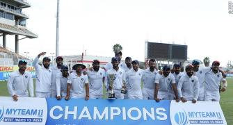 An amazing clean sweep for India