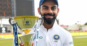 Kohli becomes India's most successful Test captain
