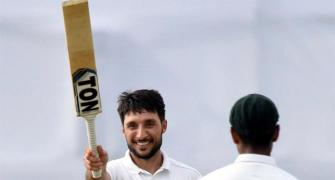 Rahmat's historic ton boosts Afghanistan on Day 1