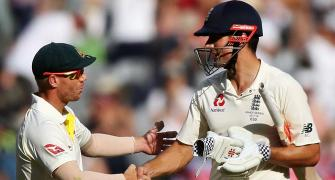 Warner tampered with ball using hand strapping: Cook
