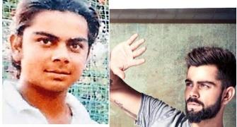 The 'throwback picture' that shocked Virat Kohli