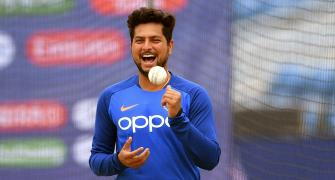 How Kuldeep is getting accustomed to saliva ban rule