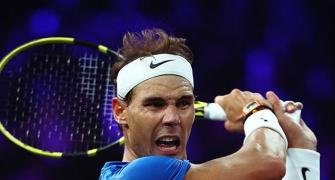 Injured Nadal pulls out of Laver Cup