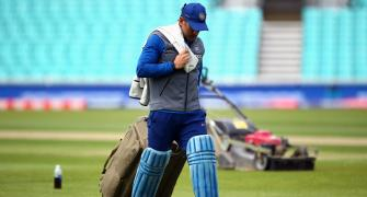 Dhoni announces retirement from international cricket