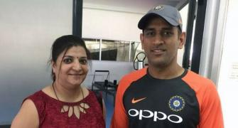 'Dhoni is very humble'