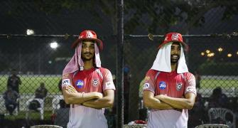 SEE: Kings XI, Royals players train under floodlights