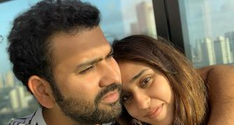 SEE: Rohit Sharma's workout with wife
