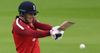 Banton shines for England before rain ends T20