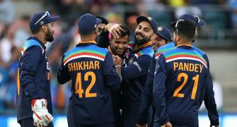India avoid clean sweep in Canberra