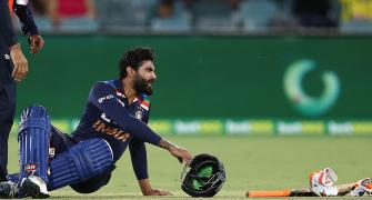 'Jadeja complained of dizziness'