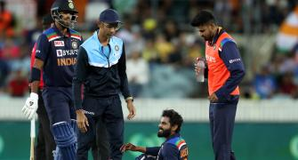 Chahal replaces Jadeja as concussion substitute