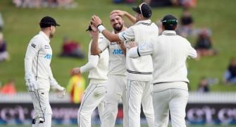 1st Test: Bowlers push NZ to brink of victory