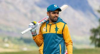 Injured Pak captain Babar to miss NZ T20s