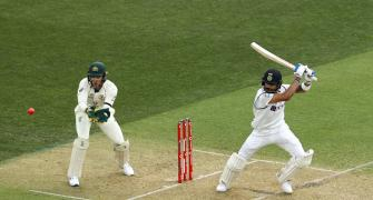 India vs Aus, Pink-ball Test: Images from Day 1