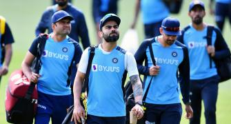 Here's what Kohli told team before leaving for India