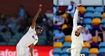 I can't really compare myself to Ashwin: Lyon