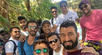PIX: How Team India enjoyed their day-off