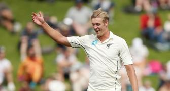 Beware! NZ's Jamieson promises more after dream debut