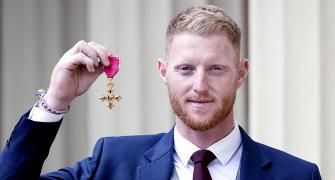 PIX: Stokes, Buttler honoured at Buckingham Palace