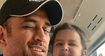 SEE: Dhoni shares adorable video of Ziva signing