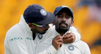 Saha reveals why he played second fiddle to Dhoni