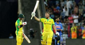 Warner, Finch decimate India with record partnership