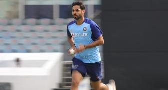 Bhuvneshwar undergoes sports hernia surgery in London