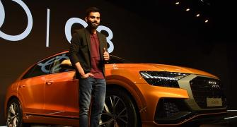 PIX: Virat Kohli is first owner of Audi Q8