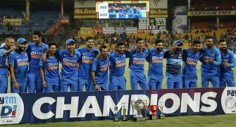 Nobody can say we played an inferior Aus side: Shastri