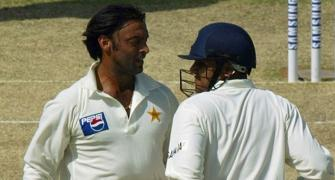 I have more money than you have hair: Akhtar to Sehwag