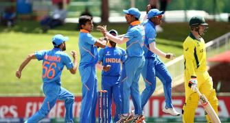 PHOTOS: India crush Australia to make U-19 WC semis