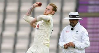 Bowlers using back sweat to shine ball in Eng-WI Test