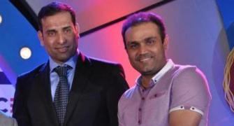 Laxman and Sehwag's mutual admiration club