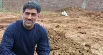 SEE: Meet Farmer Dhoni