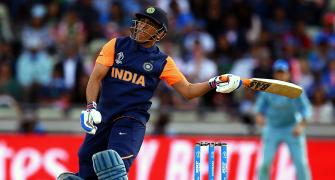 Stokes questions Dhoni's approach in England WC match